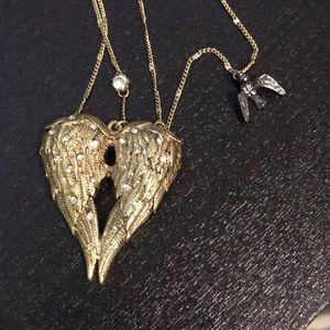 Betsey Johnson Jewelry - Angel wing betsey johnson necklace